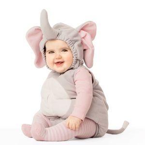 Carters elephant infant costume 12 months